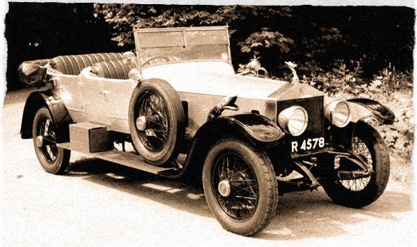 1920 Rolls Royce Silver Ghost Open Tourer