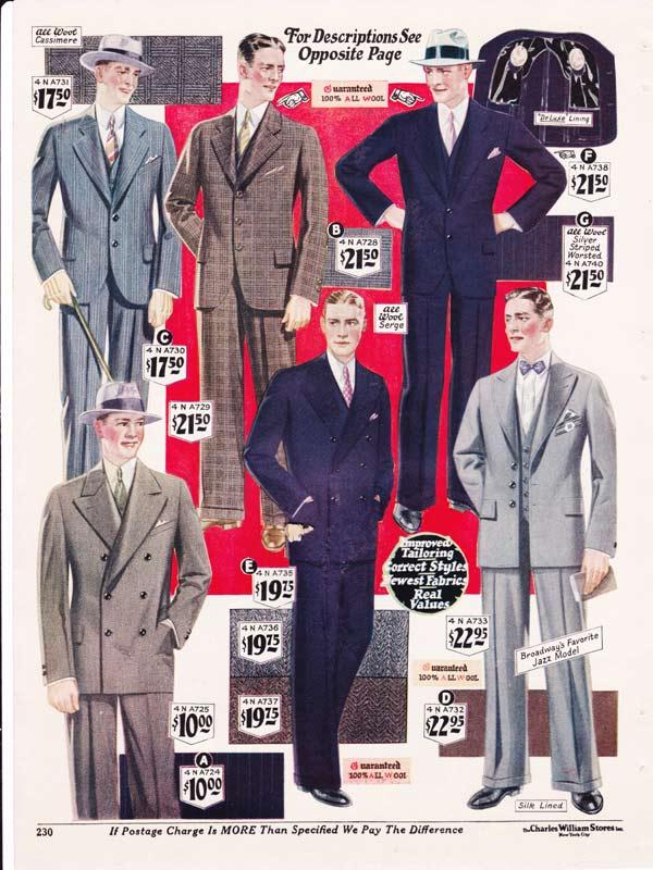 5c69f3fcf4b 1920s Fashion  Men   Boys