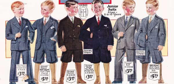 1920s Fashion Men Boys