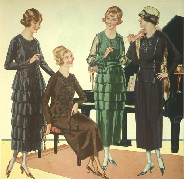 1920 fashion men and women