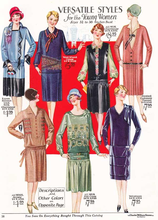 1920s Fashion: Women & Girls