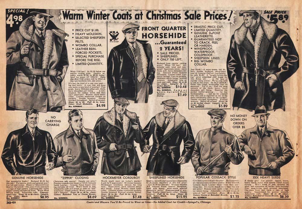 1930s Fashion Men Boys