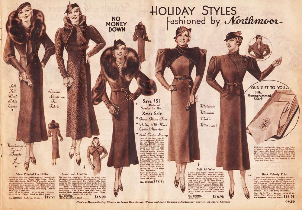 1930s Fashion: Women & Girls