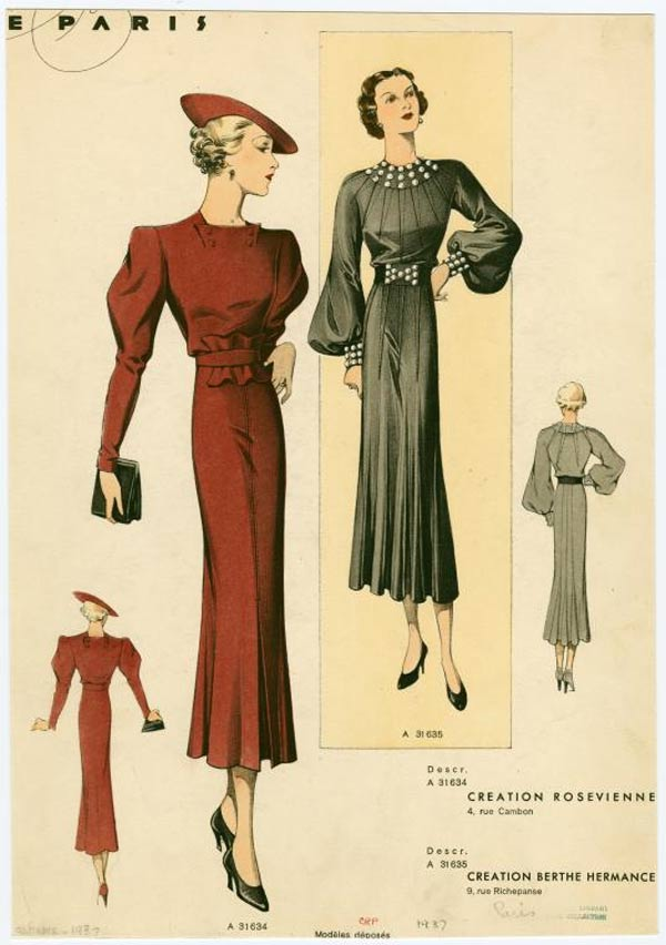 1930s Fashion Women Amp Girls Pictures Advertisements