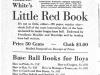 Baseball Books for Boys Ad (1934)