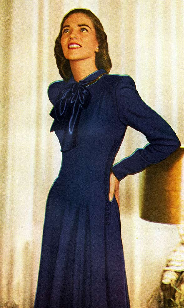 1940s Style Dresses Fashion Clothing: 1940s Fashion: Clothing Styles, Trends, Pictures & History