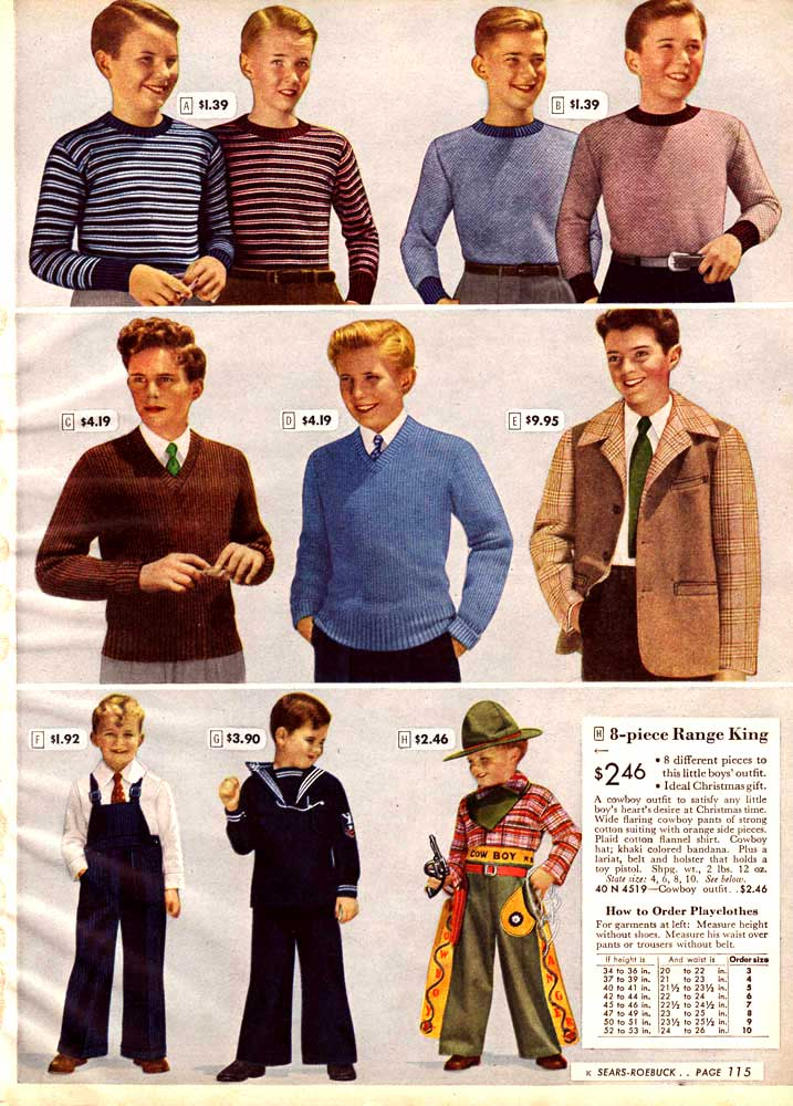 Fashion On The Couch 1940 S Fashion For Men: 1940s Fashion: Men & Boys