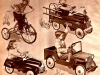 Pedal Cars with Jeep (1946)