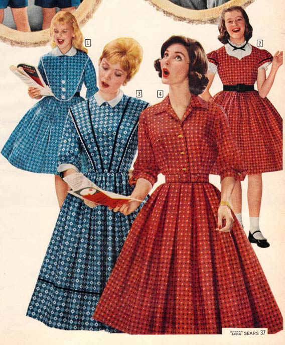 94c0500f104a 1950s Dresses & Skirts: Styles, Trends & Pictures