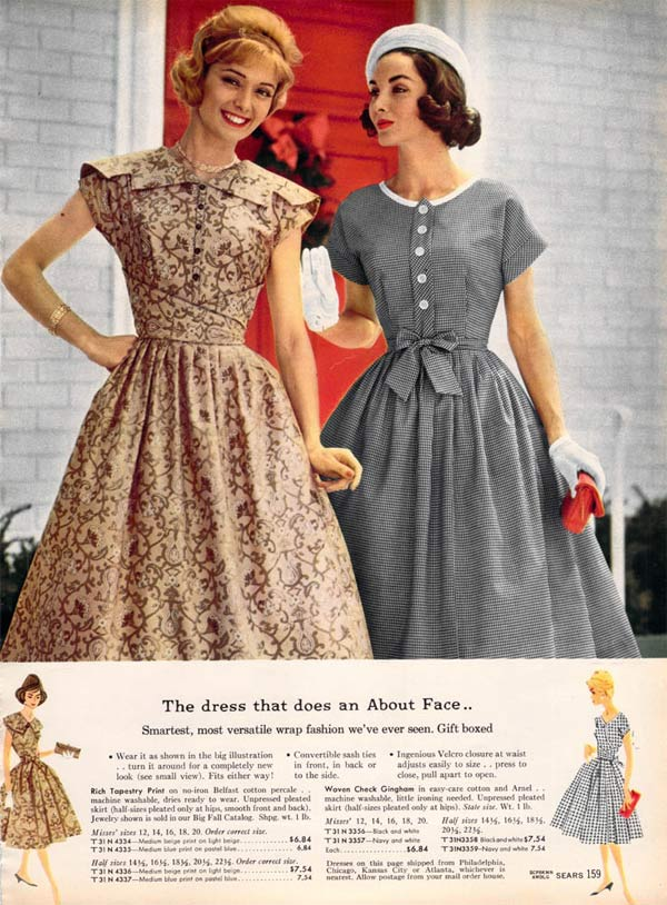 1950s Dresses \u0026 Skirts Styles, Trends \u0026 Pictures