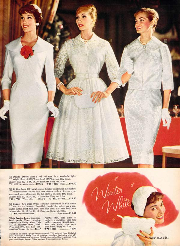 72ae72794 1950s Dresses  From a 1959 catalog
