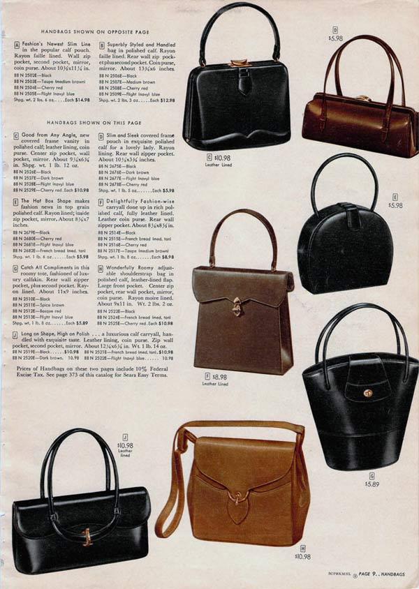 1950s Purses   Handbags  Styles fb1e46b394c9a