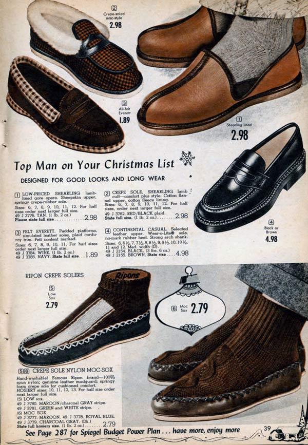 a5f8802c4f258 Men s Slippers   Moccasins (1955)