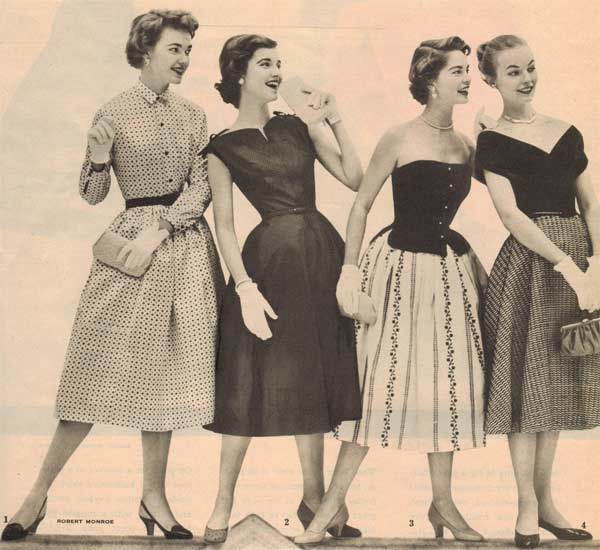 6e3b7ee21895 1950s Teen Fashion: Styles, Trends & Pictures
