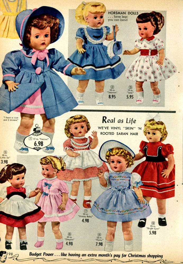 Toys In The 1950s Toys Games Dolls Amp Everything Else