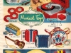 1952 Musical Toys