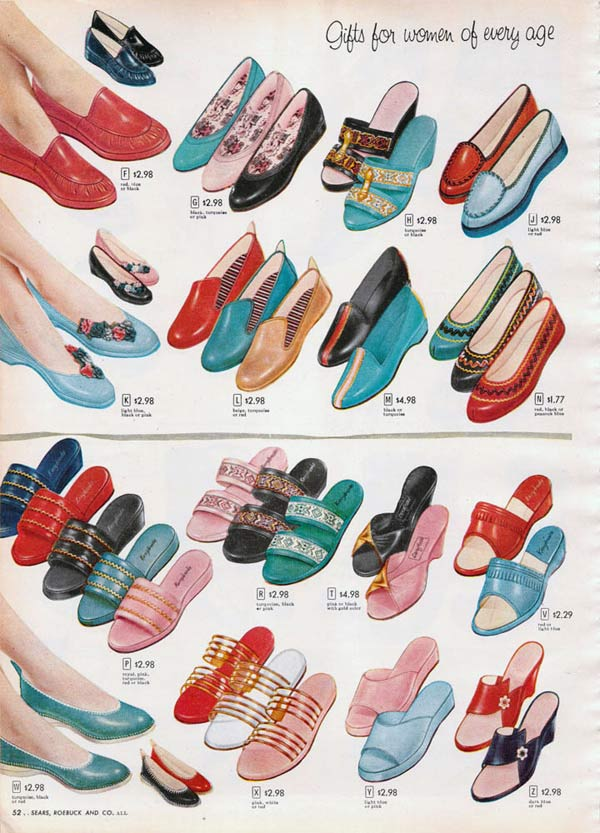1950s Shoes: Styles, Trends \u0026 Pictures