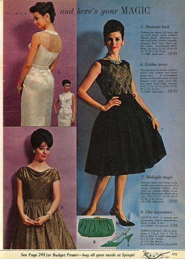 037a7167c1 1960s Dresses & Skirts: Styles, Trends & Pictures