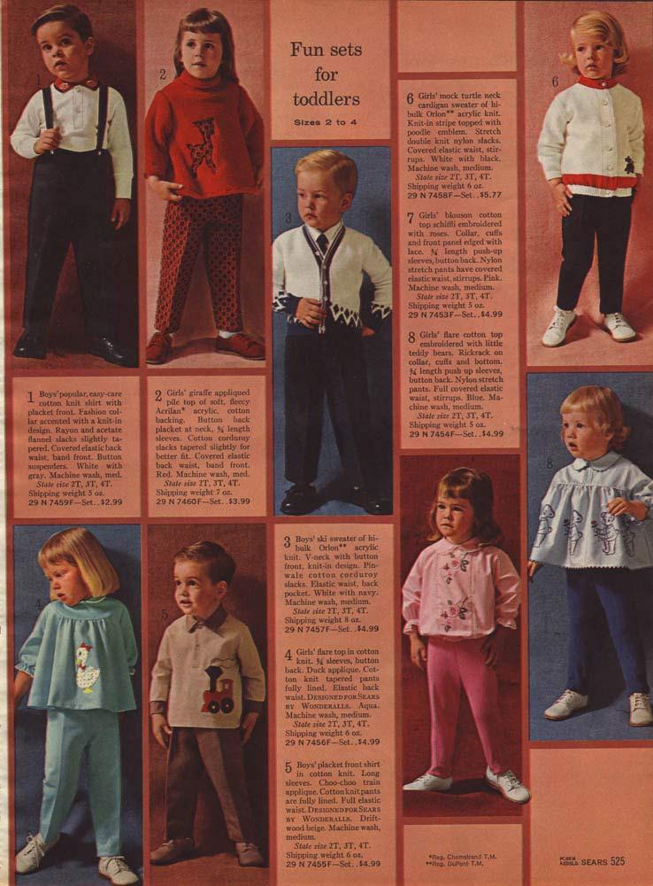 60s Kids Fashion