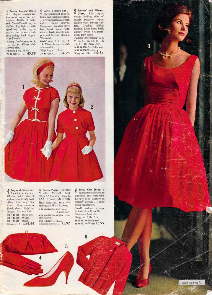 1960s Fashion For Women & Girls
