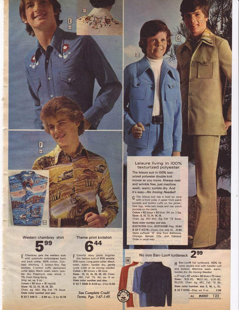 1970s Fashion: Men & Boys | Styles, Trends & Pictures