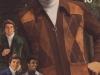 Men's Suede-Trimmed Zip-Front Cardigans (1975)