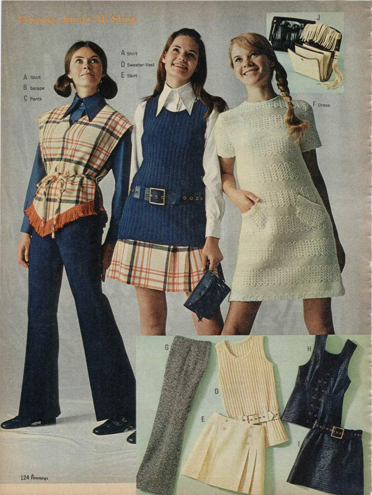 1970s fashion for women  girls  70s fashion trends