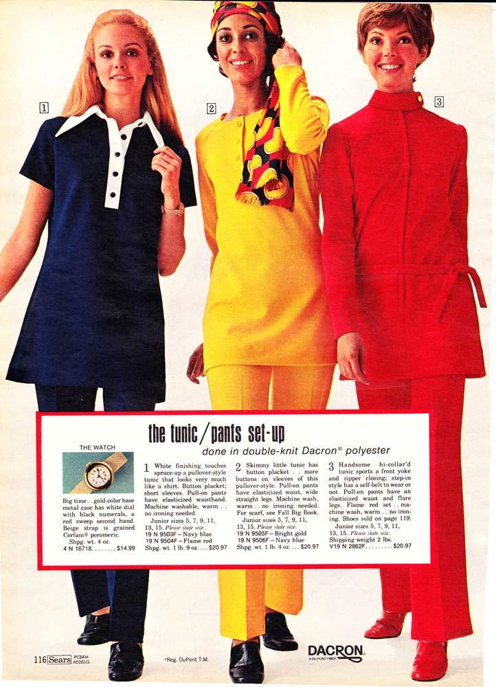 9d56dee5c1 Women s Tunic   Pants Outfits (1970)