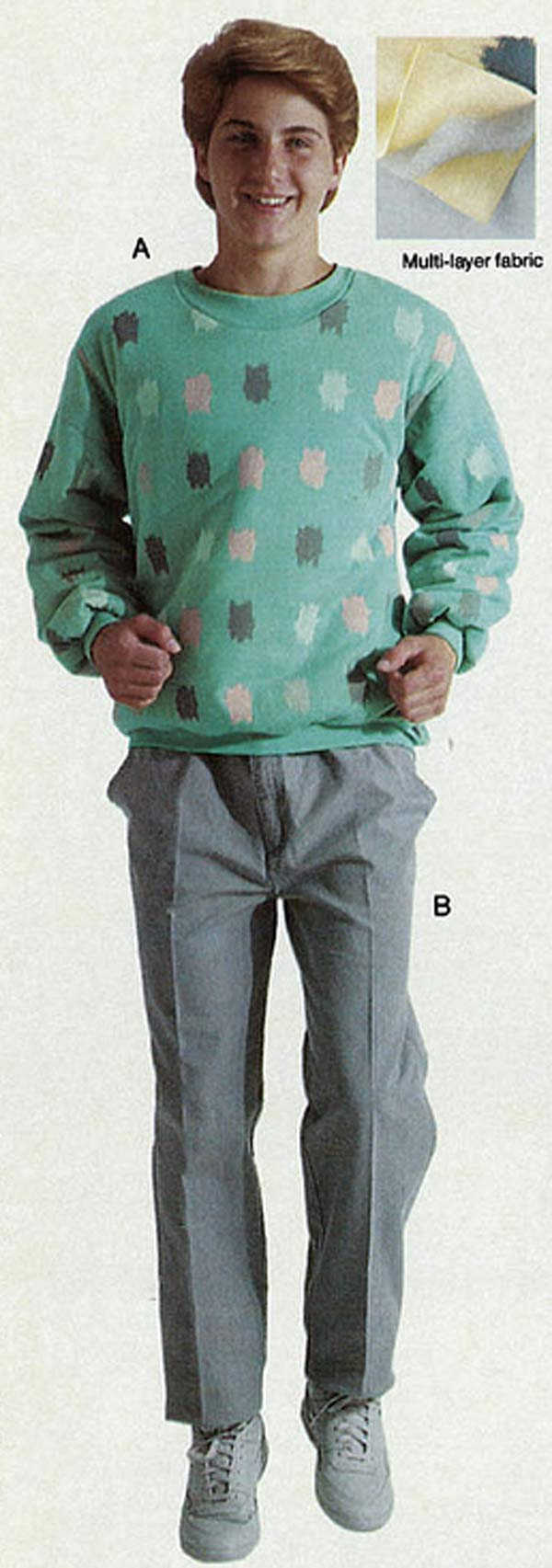 1980s Fashion  Men   Boys  46aaa36b9