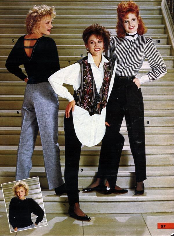 1980s fashion women  girls  styles trends  pictures