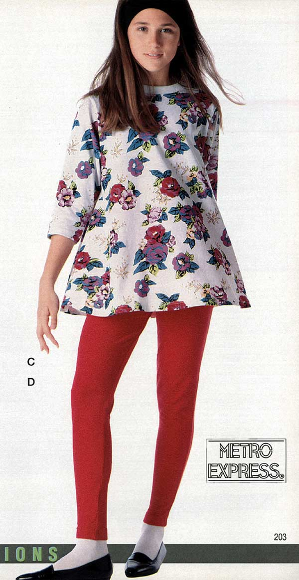 1991 Teen Girls Fashion 02 Jpg