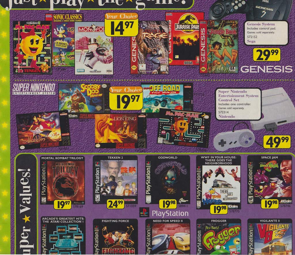 Video Games in the 1990s   History of Video Games