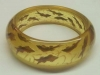 Bakelite Jewelry Apple Juice Fish Bracelet