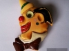 Bakelite Pin: Clown