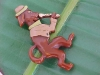 Bakelite Pin: Dog