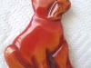 Bakelite Pin: Dog 2