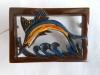 Bakelite Pin: Dolphin Brooch