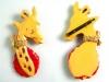 Bakelite Pin: Giraffe