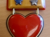 Bakelite Pin: Heart