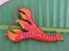 Bakelite Pin:Lobster
