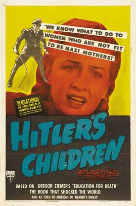 Hitler's Children Movie Poster (1943)