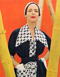 Rayon Dress in 1949