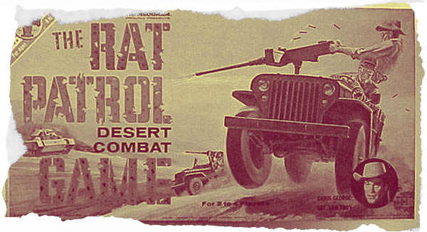 Rat Patrol Board Game