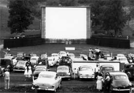 Drive-In Movie Theaters were becoming more popular in 1952