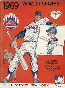 1969 World Series program