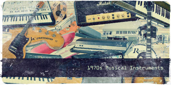 1970s Musical Instruments