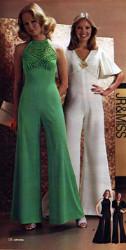1976 Fashion: Jump Suits