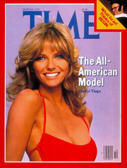 1978 Fashion: Time Magazine Cover with Cheryl Tiegs