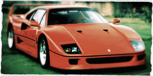 1980s Cars, Ferrari (1987)
