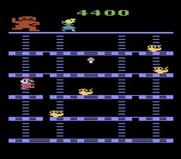 Donkey Kong on the Atari 2600 (1982)